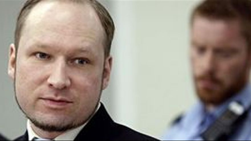 Anders Behring Breivik. (REUTERS)
