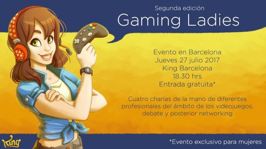 Cartel de la segunda edición de Gaming Ladies