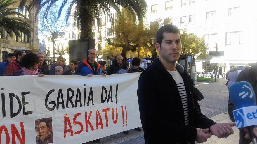 """Sortu exige la libertad de Troitiño y llama """"a salir a la calle"""" a respaldar las diferentes convocatorias por los presos"""