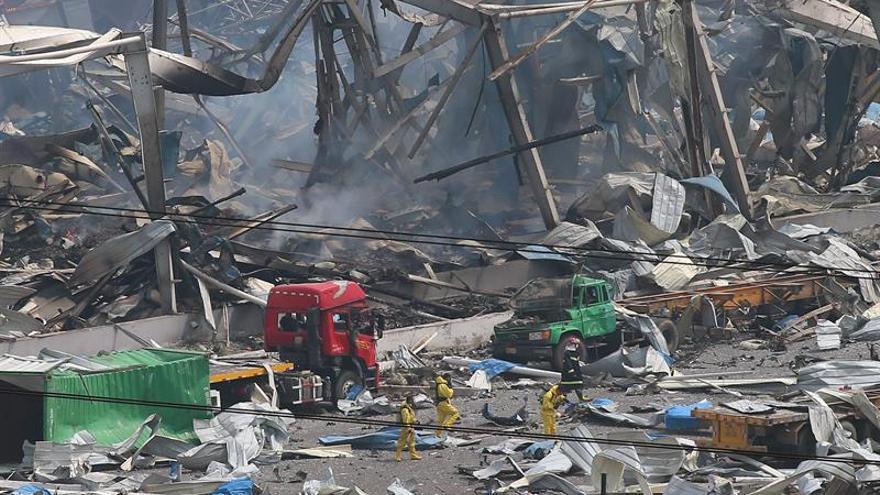 Al menos un muerto tras una explosión en una fábrica de ropa en China