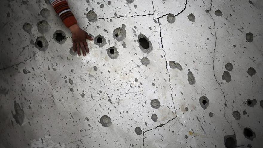 Un miliciano palestino muerto en un tercer ataque israelí contra Gaza