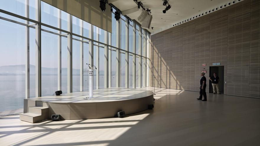 El auditorio cuenta con una capacidad para 300 personas. | Enrico Cano