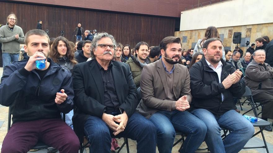 """Rufián (ERC) afirma que la Constitución está """"auspiciada y suscrita por fascistas"""""""