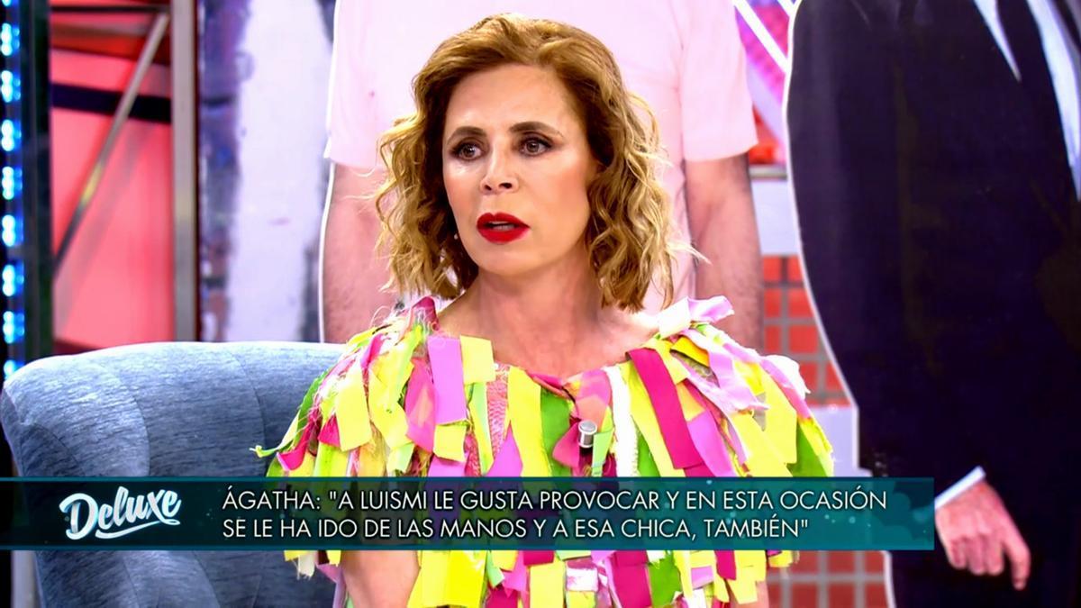 Ágatha Ruiz de la Prada en 'Sábado Deluxe'