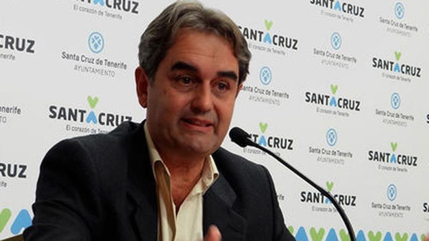 Pedro Fernández Arcila, líder de Sí Se Puede en el Ayuntamiento de Santa Cruz