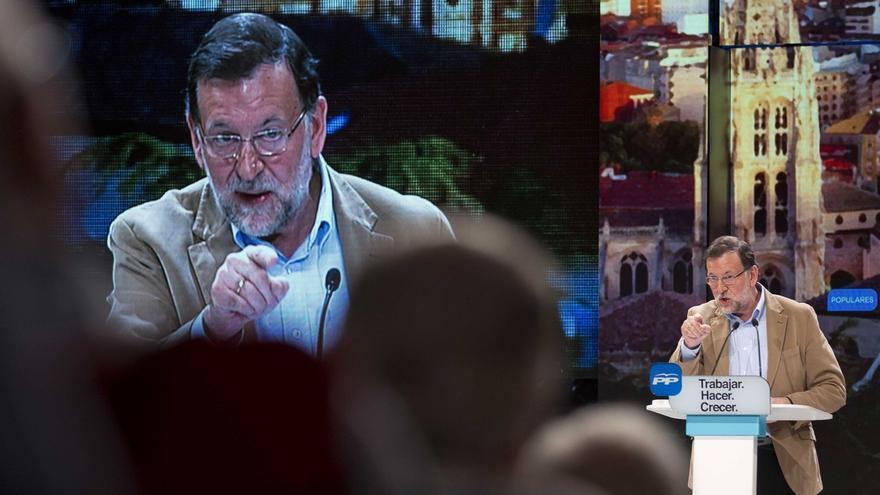 """Rajoy anima a """"perseverar en lo que funciona"""" y advierte de que España """"no necesita adanes ni tertulianos"""""""