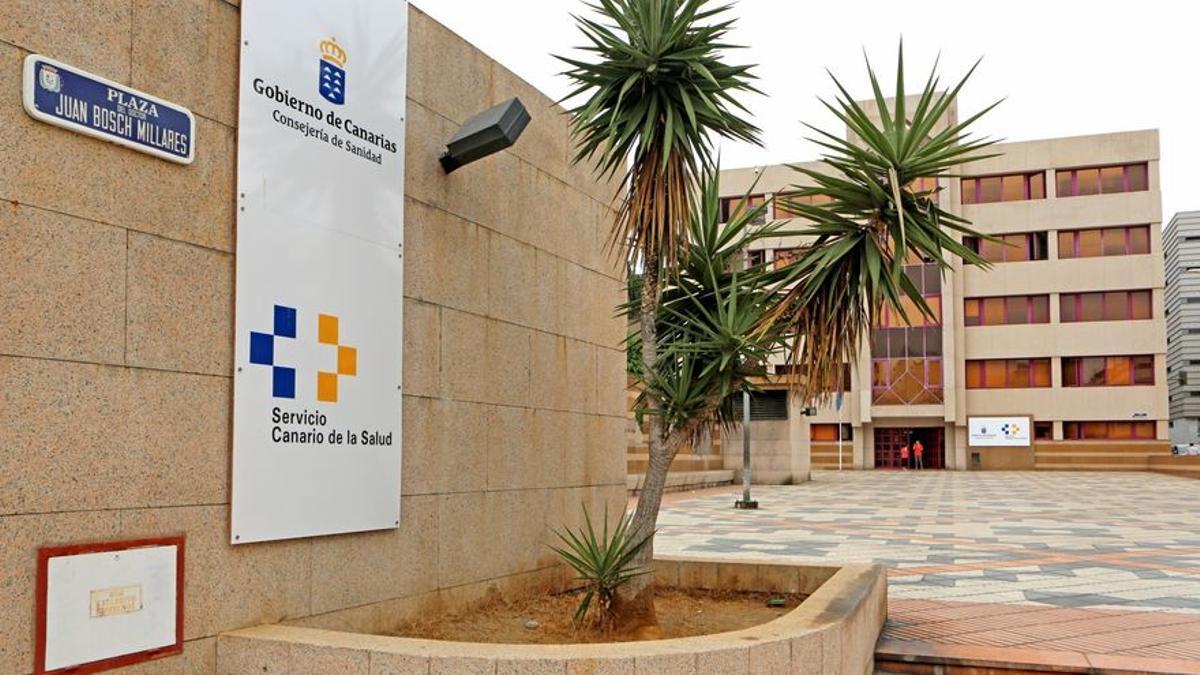 Sede del Servicio Canario de Salud en Las Palmas de Gran Canaria.