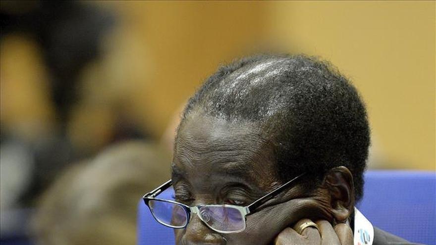 Mugabe amenaza a la industria privada de safaris en su 91 cumpleaños