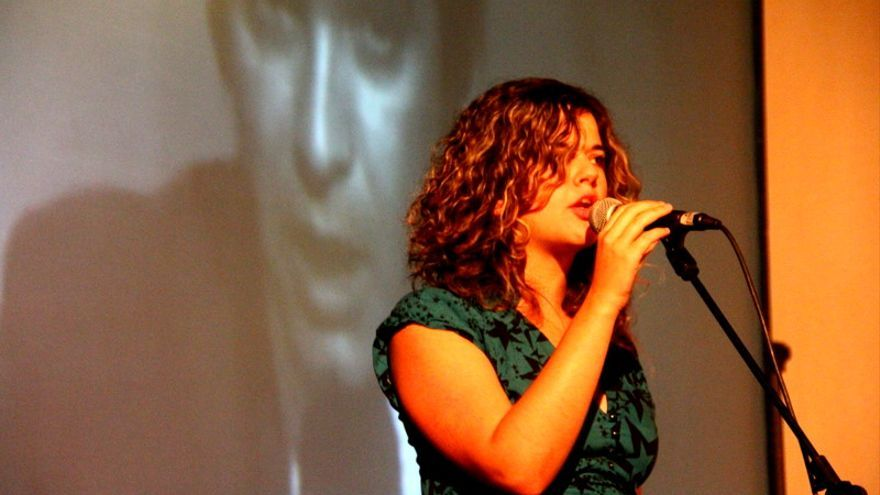 Sofía Castañón. Foto: Festival Perfopoesías