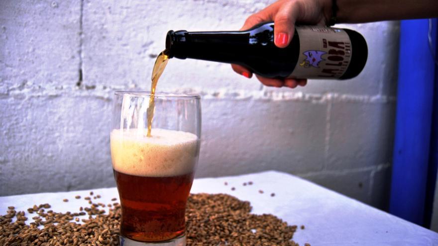 Maridaje con la cerveza 'La Loba', de Cervecera Libre de Mérida / JCD