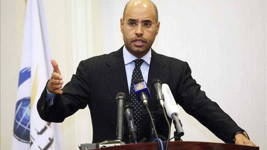 La Justicia libia aplaza al 30 de noviembre la vista contra el hijo de Gadafi