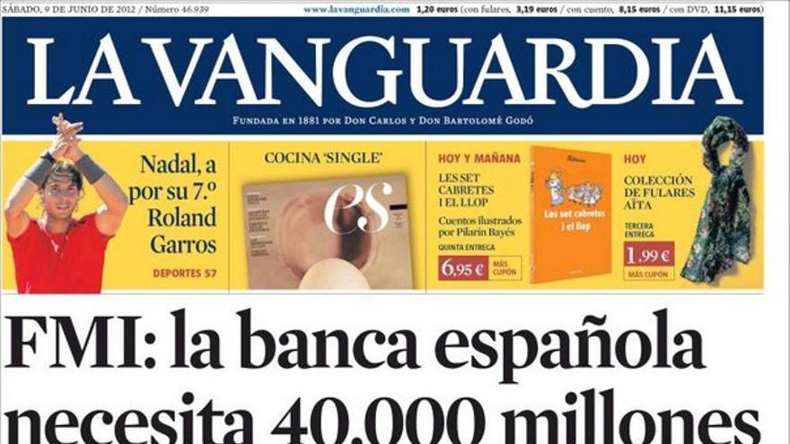 De las portadas del día (09/06/2012) #10