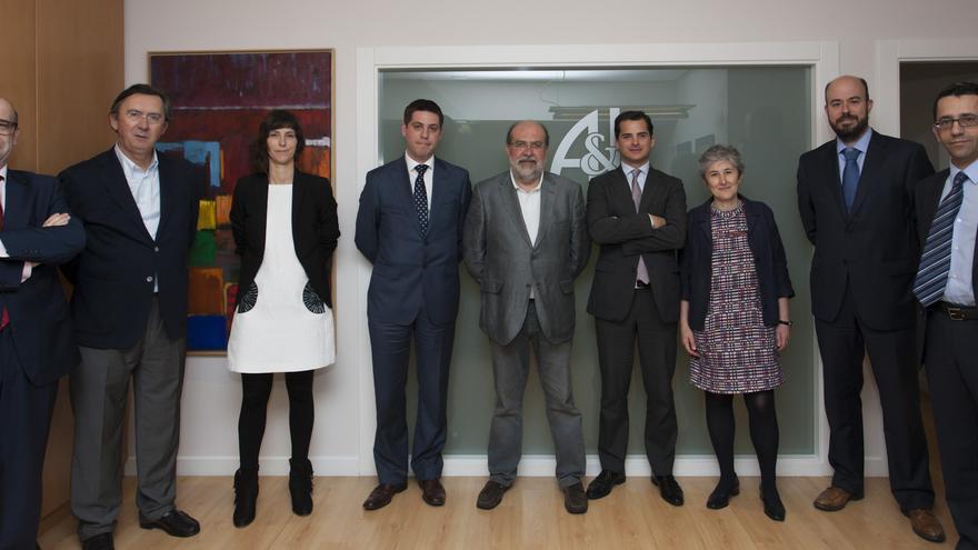 Algunos de los miembros constituyentes de la Asociación de Derecho Colaborativo de Euskadi