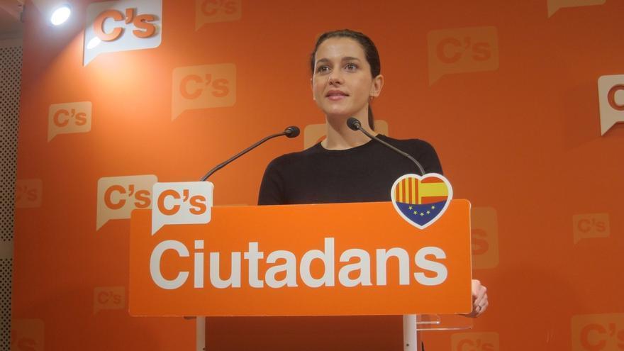 """Arrimadas (C's): """"Nunca nos hemos casado con el PSOE"""""""