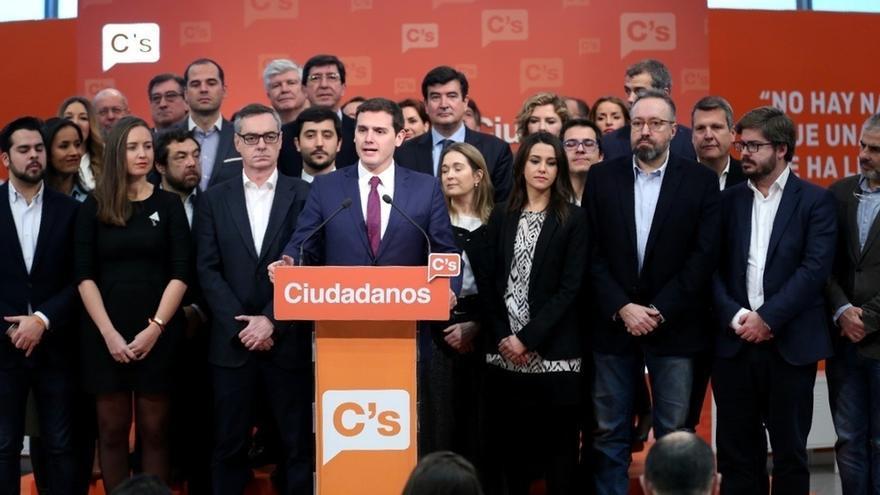 Rivera gana las primarias de Ciudadanos con un 87,3% de los votos y una participación del 34%