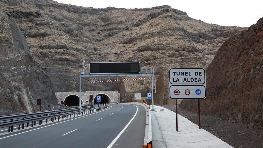 El nuevo túnel de La Aldea
