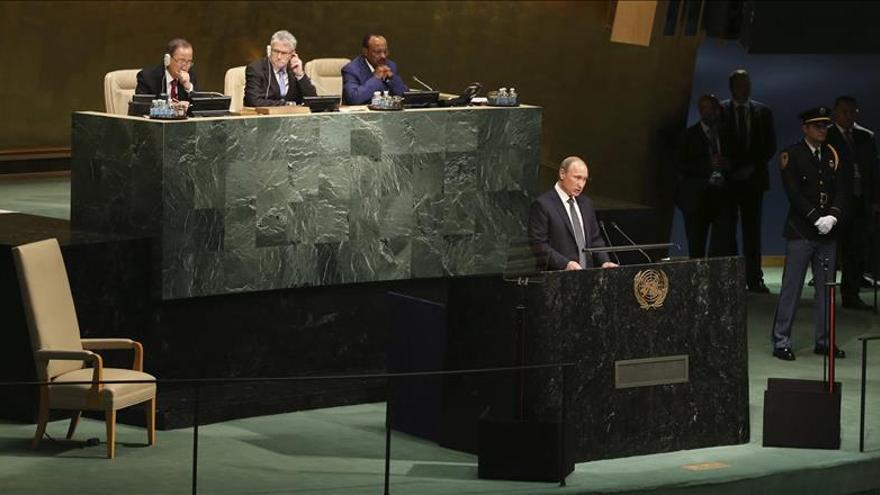 Putin propone una amplia coalición internacional para luchar contra el terrorismo