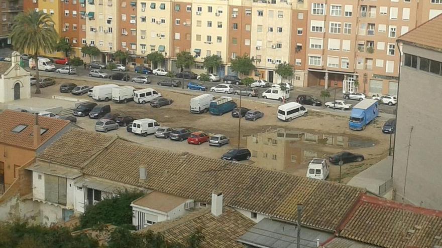 Vista del barrio de Orriols