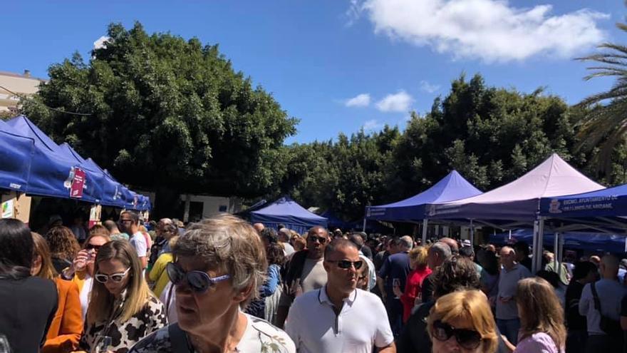 Numeroso público acudió este sábado a Fivipal.