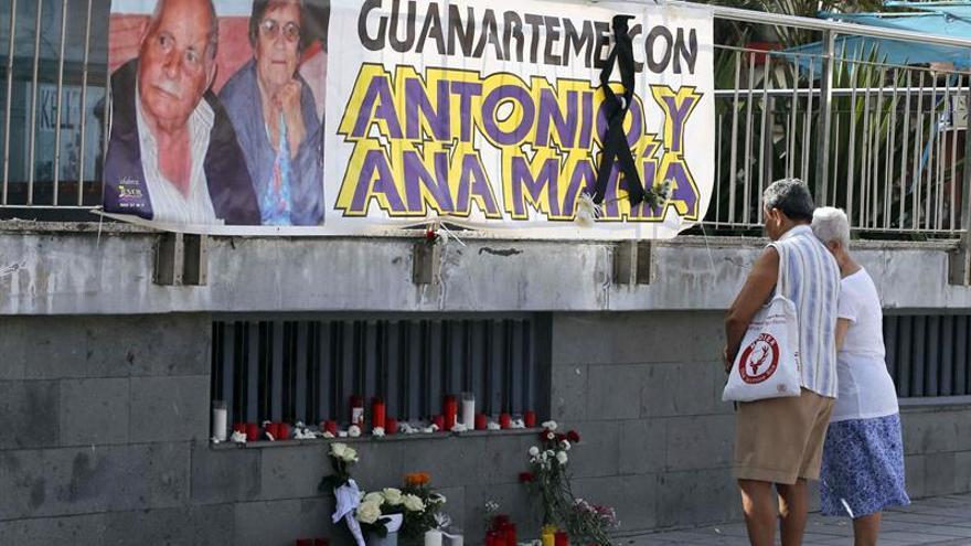 El barrio de Guanarteme rinde homenaje a Antonio Quesada y Ana María Artiles