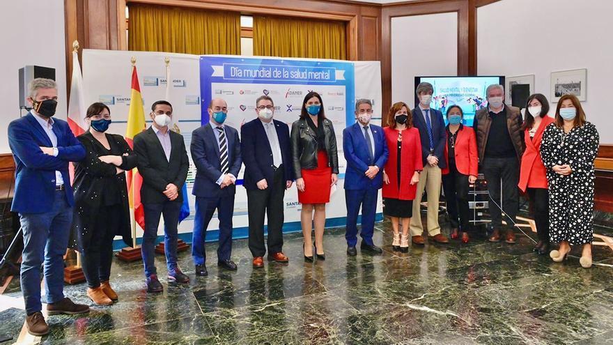 Participantes en el Día Mundial de la Salud Mental