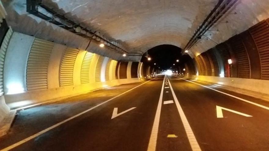 Archivo - Imagen del túnel de Belate