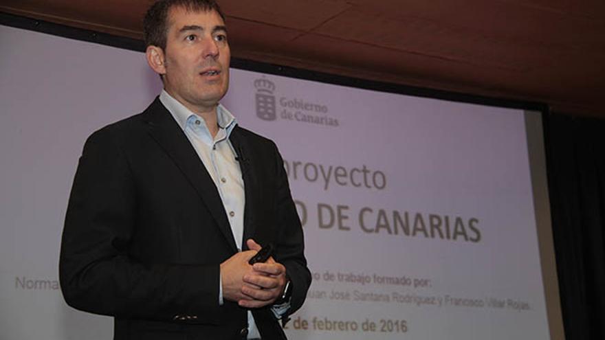 Fernando Clavijo. (DE LA CRUZ)