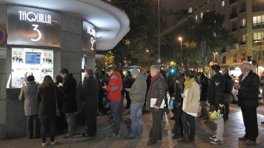 La asistencia al cine en España cayó un 2 % en 2018