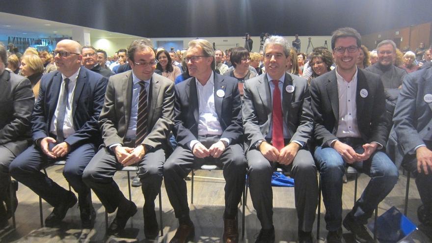 """Mas pide el voto para Democràcia i Llibertat por representar al soberanismo que se lo juega """"todo"""""""