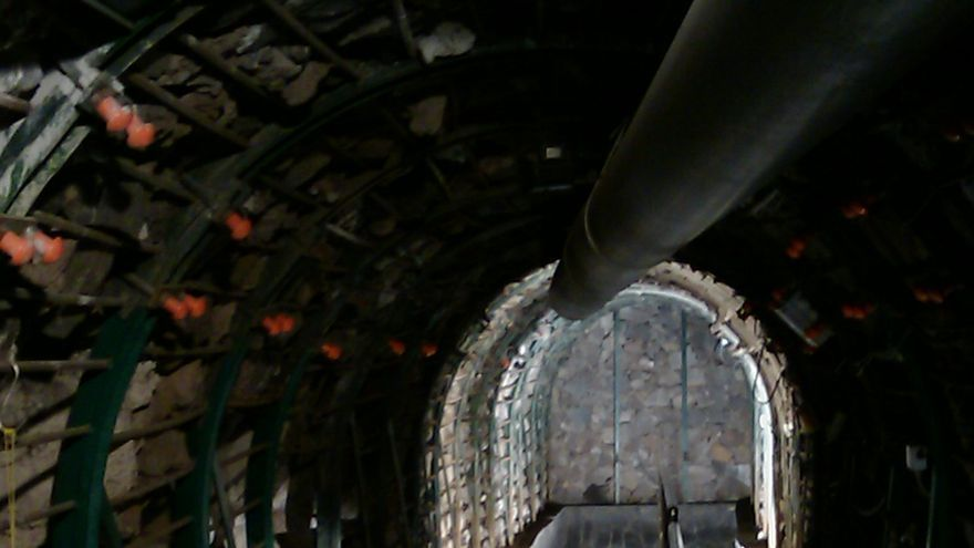 Imagen de archivo de la galería de la Fuente Santa.