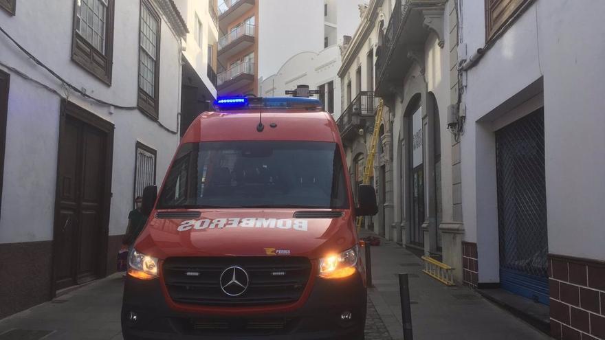 Bomberos de Tenerife interviene en siete incidencias causadas por el viento y la lluvia