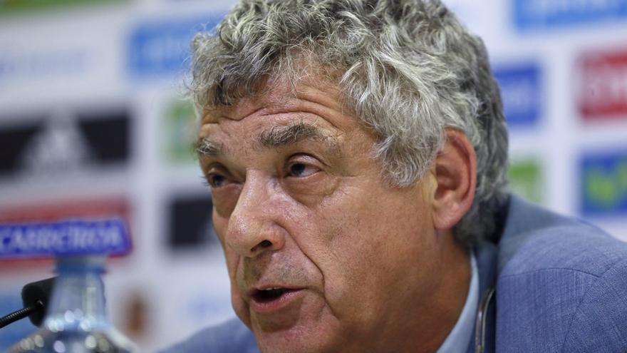 El presidente de la Real Federación Española de Fútbol (RFEF), Ángel María Villar.