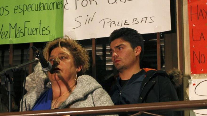 Vecinos del pueblo de un condenado de Arandina se concentran contra el fallo