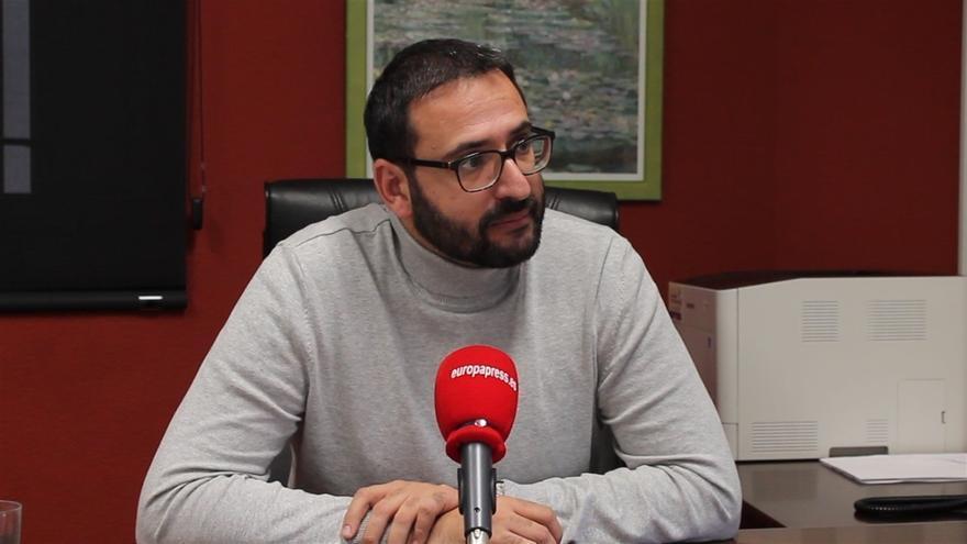 Sergio Gutiérrez, secretario de Organización del PSOE