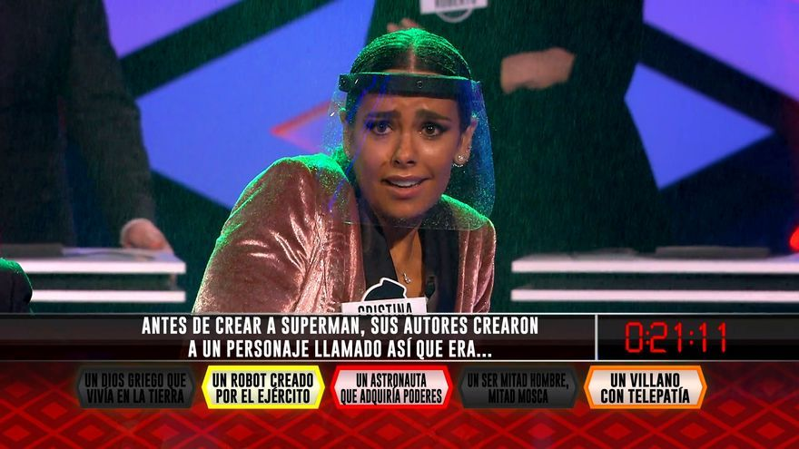 Cristina Pedroche, en '¡Boom!'