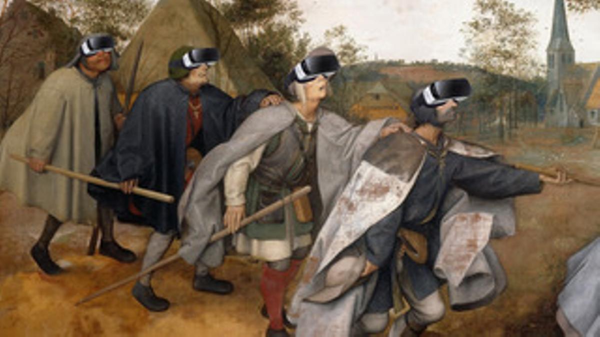 Fotomontaje a partir de un cuadro de Brueghel el Viejo (RS&JD).