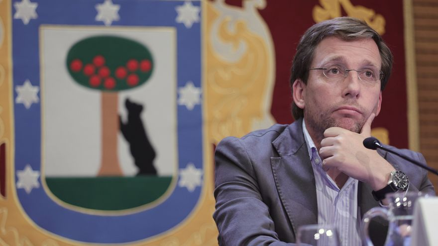 El portavoz nacional del PP y alcalde de Madrid, José Luis Martínez-Almeida.