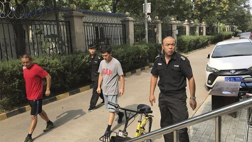 El régimen chino mantiene bajo férreo control la casa de viuda del nobel Liu
