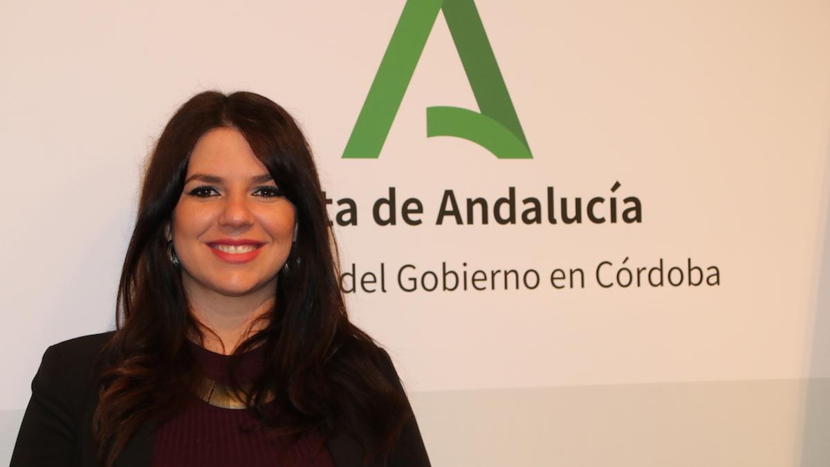 La delegada territorial de Regeneración, Justicia y Administración Local de la Junta en Córdoba, Purificación Joyera