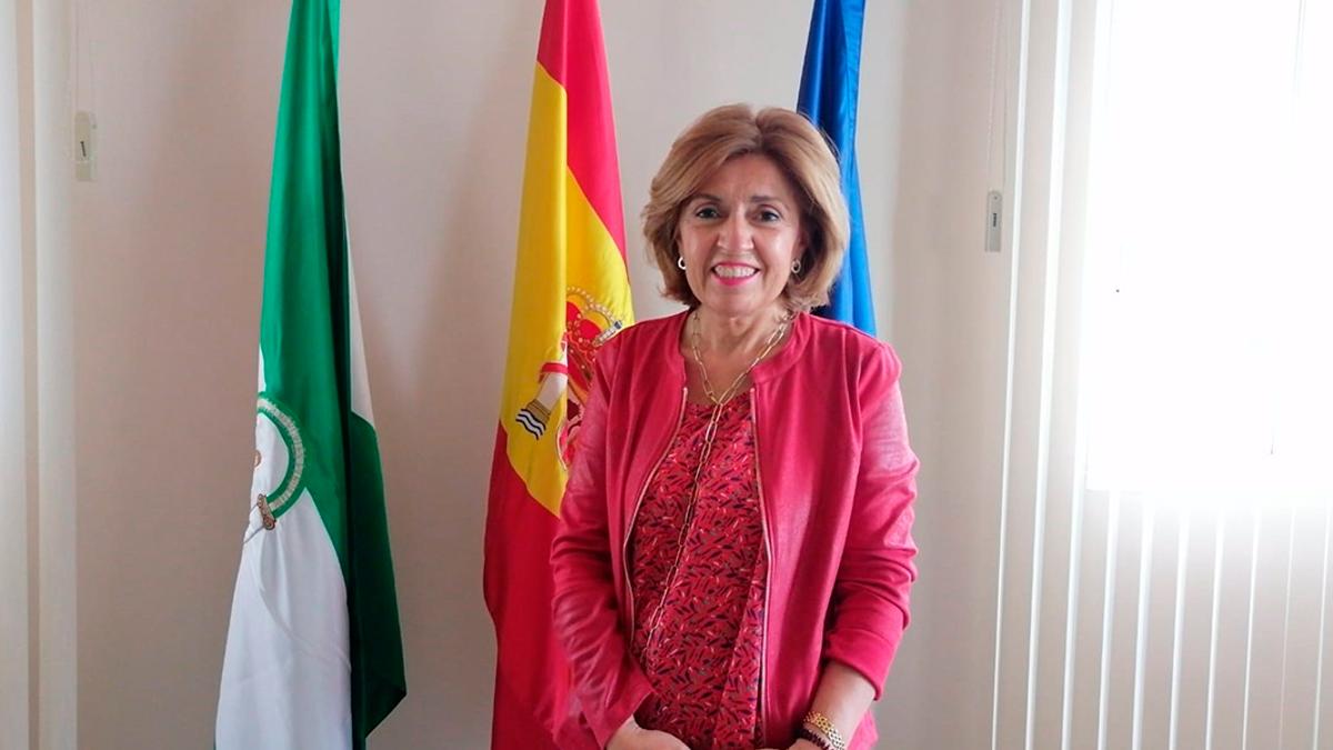 La delegada de Salud y Familias de la Junta de Andalucía en Córdoba, María Jesús Botella.