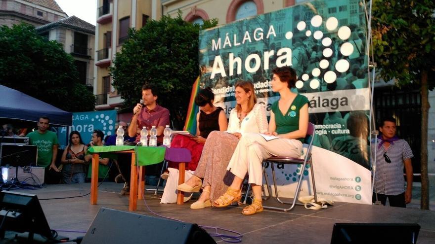 """Rodríguez (Podemos): """"Málaga Ahora es la única opción valiente"""""""