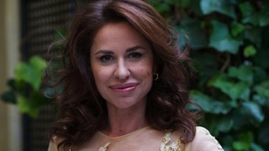 ¿Imitará Vicky Larraz a Marta Sánchez en 'Tu cara'? Ella responde