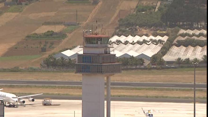 Antigua torre de control de Los Rodeos