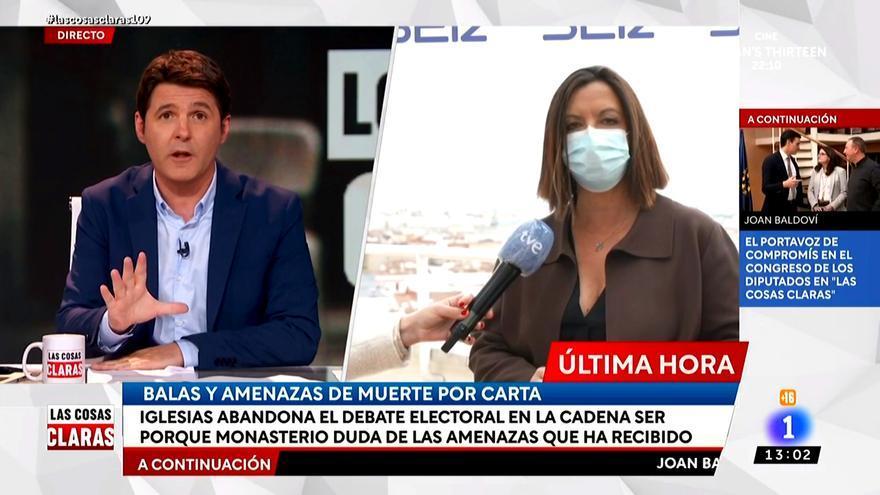 Àngels Barceló, entrevistada por Jesús Cintora en La 1