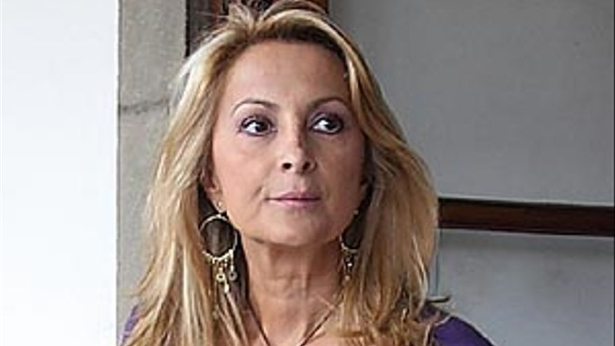 La portavoz del Grupo Popular en el Parlamento de Canarias, Australia Navarro.