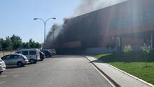 Declarado un incendio en el hospital de Hellín (Albacete) que obliga a desalojar todo el edificio