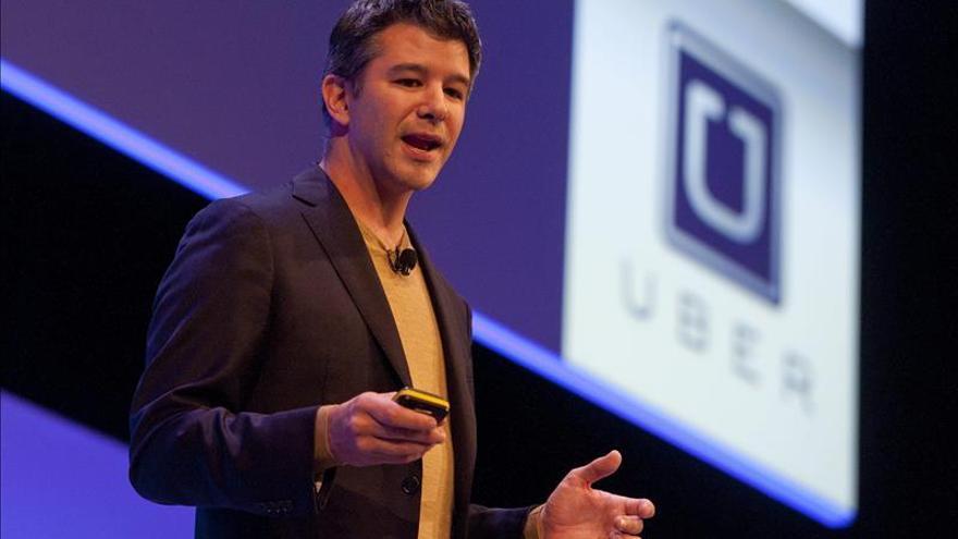 El consejero delegado de Uber, Travis Kalanick