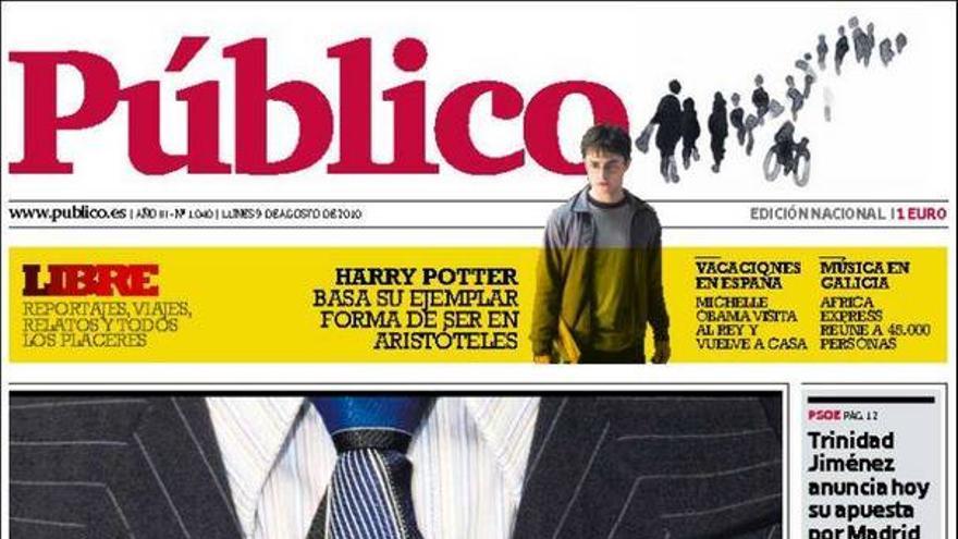De las portadas del día (09/08/2010) #12