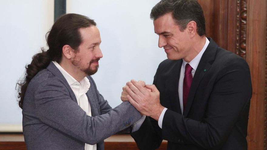 Sánchez se asegura la investidura tras pactar con Podemos y ERC con acusaciones de traición a España de la oposición