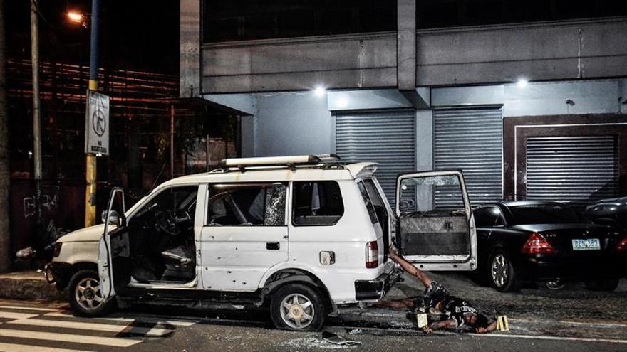 La policía filipina mata a dos personas al confundir a la víctima con sus asaltantes
